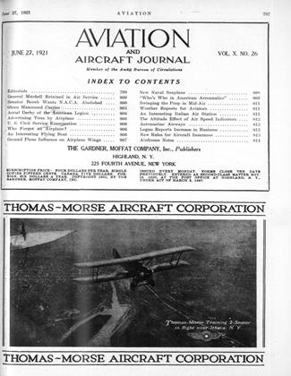Cover for the June 27 1921 issue