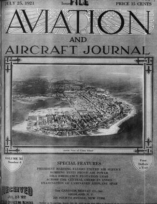 Cover for the July 25 1921 issue