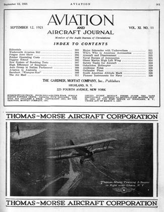 Cover for the September 12 1921 issue