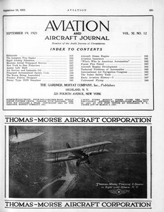 Cover for the September 19 1921 issue