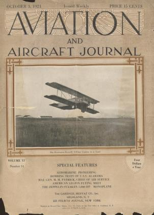 Cover for the October 3 1921 issue
