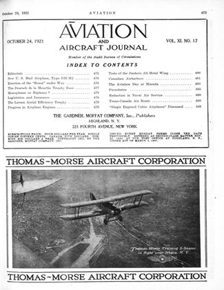 Cover for the October 24 1921 issue