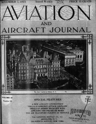 Cover for the November 7 1921 issue