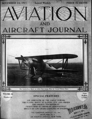 Cover for the November 14 1921 issue