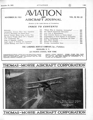 Cover for the November 28 1921 issue