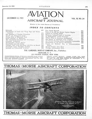 Cover for the December 12 1921 issue