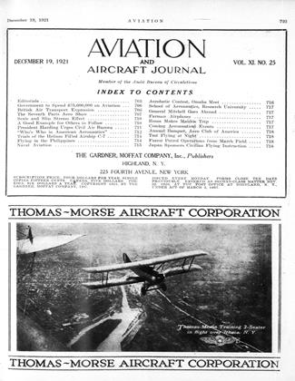 Cover for the December 19 1921 issue
