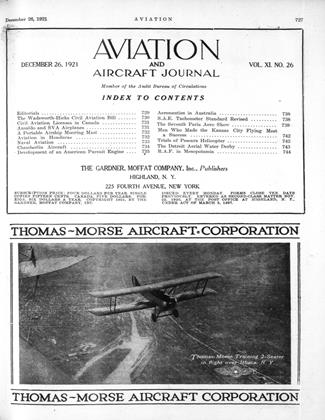 Cover for the December 26 1921 issue