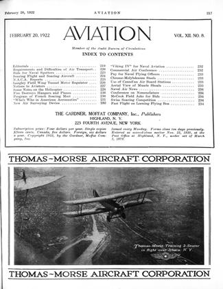 Cover for the February 20 1922 issue