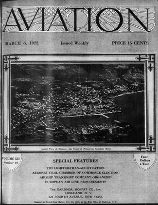 Cover for the March 6 1922 issue