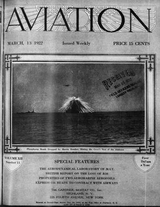 Cover for the March 13 1922 issue