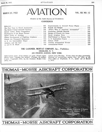 Cover for the March 20 1922 issue