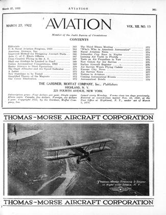 Cover for the March 27 1922 issue