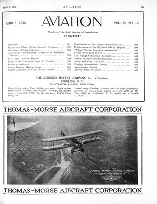 Cover for the April 3 1922 issue