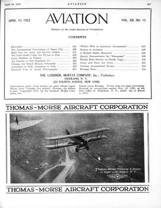 Cover for the April 10 1922 issue