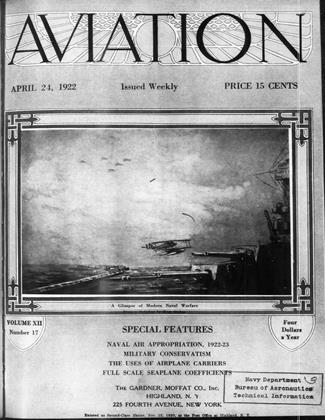 Cover for the April 24 1922 issue