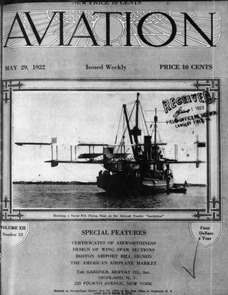 Cover for the May 29 1922 issue