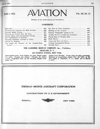 Cover for the June 5 1922 issue