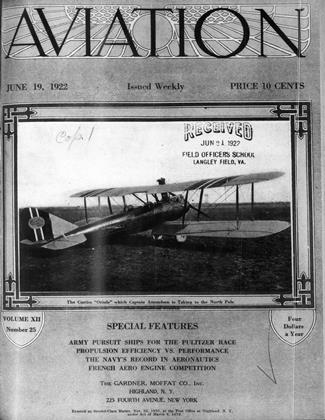 Cover for the June 19 1922 issue