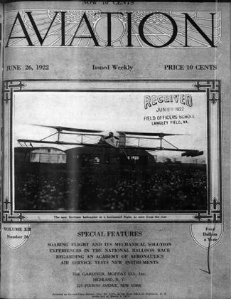 Cover for the June 26 1922 issue