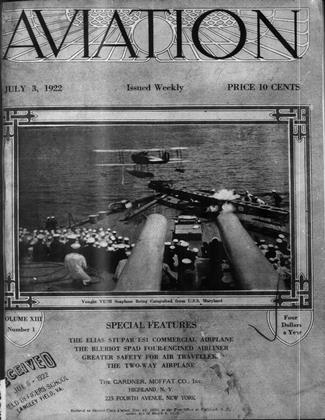 Cover for the July 3 1922 issue