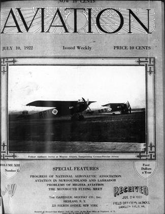 Cover for the July 10 1922 issue