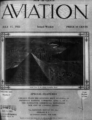 Cover for the July 17 1922 issue