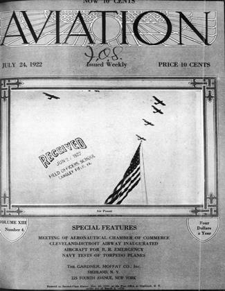 Cover for the July 24 1922 issue