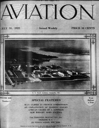 Cover for the July 31 1922 issue