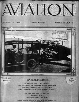 Cover for the August 14 1922 issue