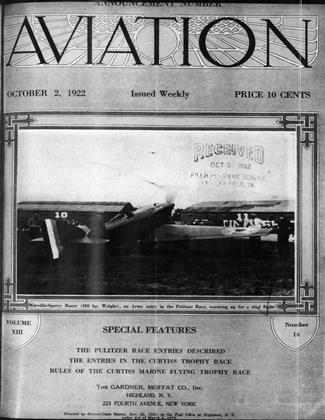 Cover for the October 2 1922 issue