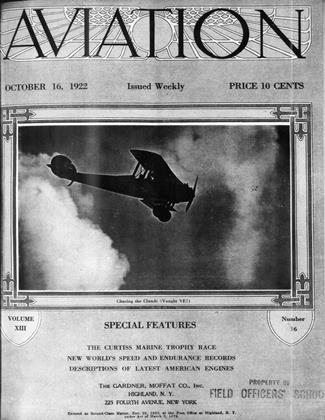 Cover for the October 16 1922 issue
