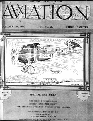 Cover for the October 23 1922 issue