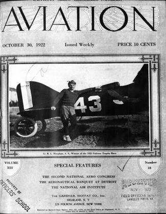 Cover for the October 30 1922 issue