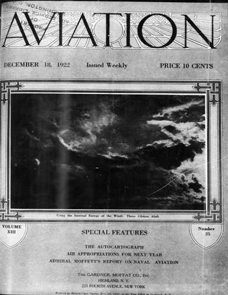 Cover for the December 18 1922 issue