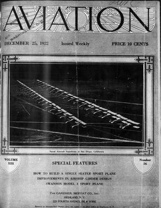Cover for the December 25 1922 issue