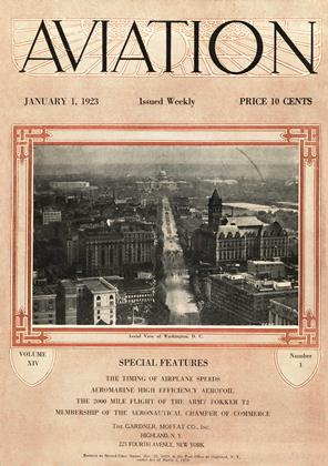 Cover for the January 1 1923 issue