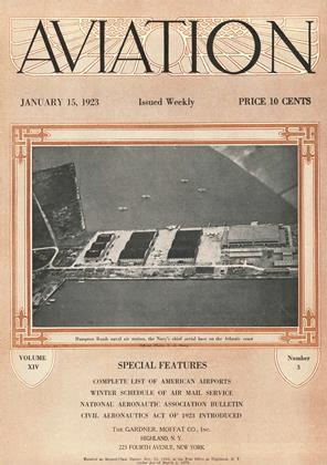 Cover for the January 15 1923 issue