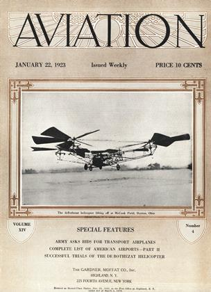 Cover for the January 22 1923 issue