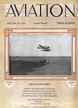 Cover for the January 29 1923 issue