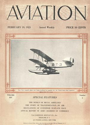 Cover for the February 19 1923 issue