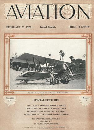 Cover for the February 26 1923 issue