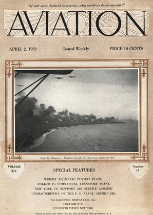 Cover for the April 2 1923 issue