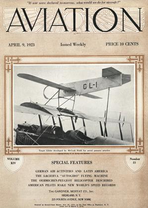 Cover for the April 9 1923 issue