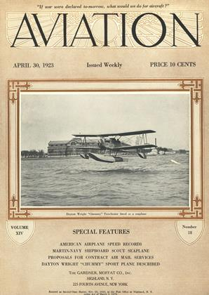 Cover for the April 30 1923 issue