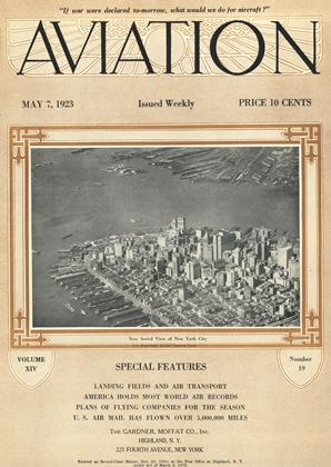 Cover for the May 7 1923 issue