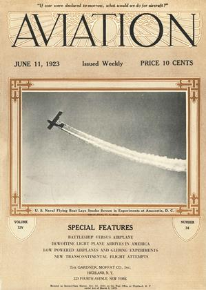 Cover for the June 11 1923 issue