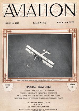Cover for the June 18 1923 issue