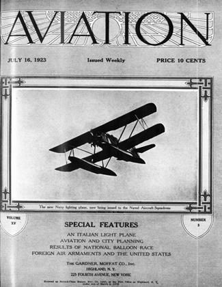 Cover for the July 16 1923 issue