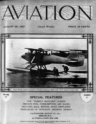 Cover for the August 20 1923 issue